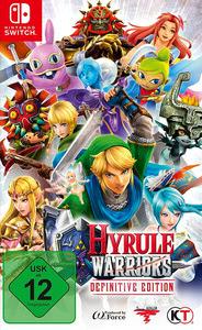 Verpackung von Hyrule Warriors Definitive Edition [Switch]