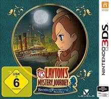 Verpackung von Layton`s Mystery Journey: Katrielle und die Verschwörung der Millionäre [3DS]