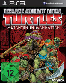 Verpackung von Teenage Mutant Ninja Turtles: Mutants in Manhattan [PS3]