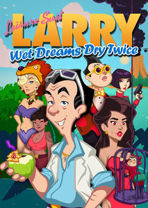 Verpackung von Leisure Suit Larry – Wet Dreams Dry Twice [PC]