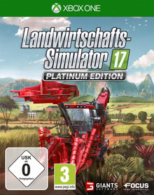 Verpackung von Landwirtschafts-Simulator 17: Platinum Edition [Xbox One]