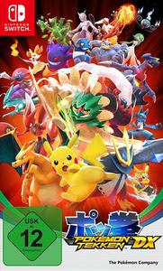 Verpackung von Pokémon Tekken DX [Switch]