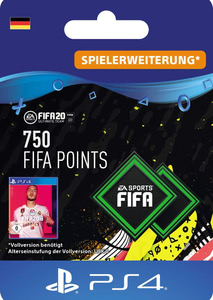 Verpackung von FIFA 20 750 FUT Points Pack - Ultimate Team [PS4]