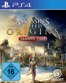 Verpackung von Assassin's Creed Origins Season Pass - deutsches PSN-Konto [PS4]