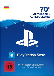 Verpackung von PlayStation Network Code 70 Euro [PS3 / PS4]