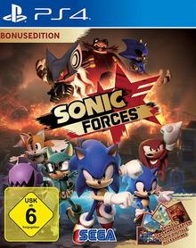 Verpackung von Sonic Forces Bonus Edition [PS4]