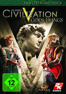 Verpackung von Sid Meier's Civilization V - Gods & Kings Add-On [PC]
