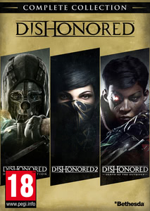 Packaging of Dishonored Complete Collection [PC]