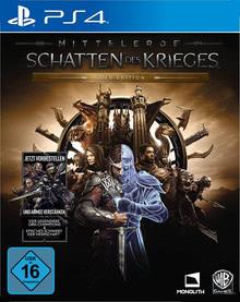 Verpackung von Mittelerde: Schatten des Krieges Gold Edition [PS4]