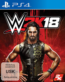 Verpackung von WWE 2K18 Day One Edition [PS4]