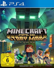 Verpackung von Minecraft Story Mode: Season 2 Season Pass Disc [PS4]
