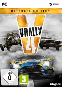 Packaging of V-Rally 4 Ultimate Edition [PC]