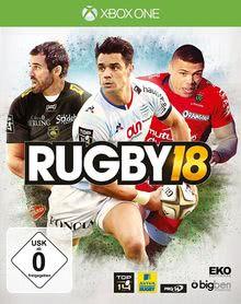 Verpackung von Rugby18 [Xbox One]
