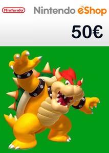 Verpackung von Nintendo eShop Guthaben Code 50 Euro [3DS / Wii U / Switch]