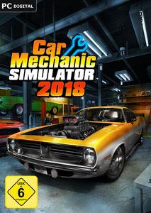 Verpackung von Auto-Werkstatt Simulator 2018 [PC / Mac]