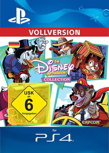 Verpackung von The Disney Afternoon Collection [PS4]