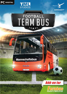 Packaging of Der Fernbus Simulator Add-on - Fußball Mannschaftsbus [PC]