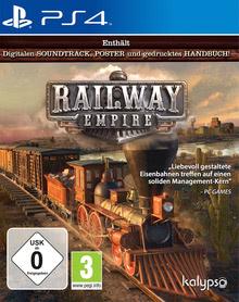 Verpackung von Railway Empire [PS4]