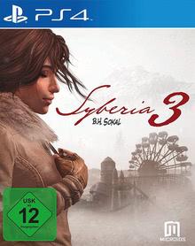 Verpackung von Syberia 3 [PS4]