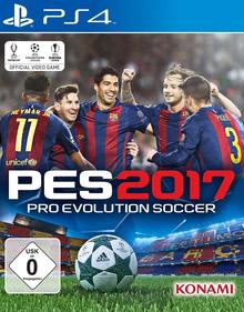 Verpackung von Pro Evolution Soccer 2017 [PS4]