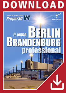 Packaging of Prepar3D V4 Mega Airport Berlin-Brandenburg professional [PC]
