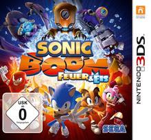 Verpackung von Sonic Boom: Feuer und Eis [3DS]