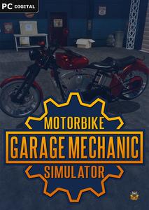 Packaging of Motorbike Garage Mechanic Simulator [PC]