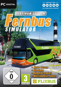 Packaging of Der Fernbus Simulator Platinum Edition [PC]