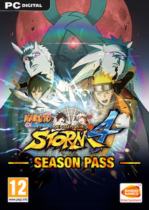 Packaging of Naruto Shippuden - Ultimate Ninja Storm 4 Season Pass [PC]