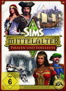 Verpackung von Die Sims Mittelalter: Piraten und Edelleute Add-On [PC]