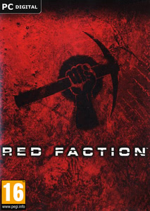 Packaging of Red Faction [PC]