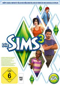 Verpackung von Die Sims 3 [PC]
