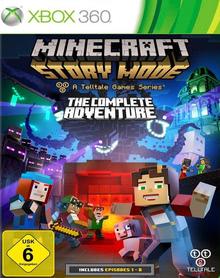 Verpackung von Minecraft: Story Mode - The Complete Adventure [Xbox 360]