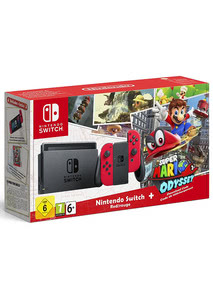 Verpackung von Nintendo Switch Super Mario Odyssey Bundle [Switch]