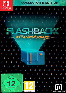 Verpackung von Flashback 25th Anniversary [Switch]