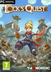 Packaging of Lock´s Quest [PC]