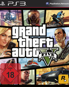 Verpackung von Grand Theft Auto V [PS3]