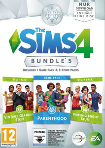 Packaging of Die Sims 4 DLC Bundle 5 [PC / Mac]