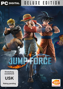 Verpackung von Jump Force Deluxe Edition [PC]