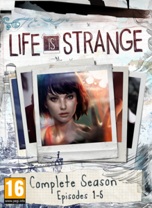 Packaging of Life is Strange Complete Season (Episodes 1-5) [PC]