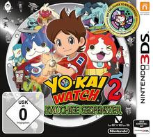 Verpackung von YO-KAI WATCH 2: Knochige Gespenster [3DS]
