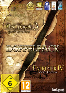 Packaging of Port Royale 3 - Gold [PC]