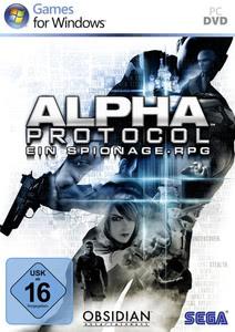 Verpackung von Alpha Protocol [PC]