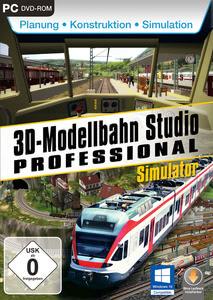 Verpackung von 3D Modellbahnstudio V2 [PC]