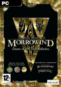 Packaging of The Elder Scrolls III: Morrowind Game of the Year [PC]