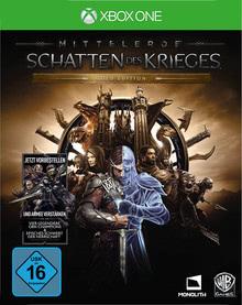 Verpackung von Mittelerde: Schatten des Krieges Gold Edition [Xbox One]