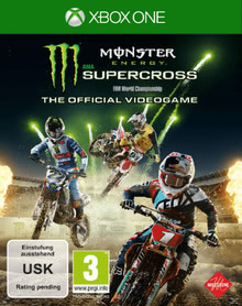 Verpackung von Monster Energy Supercross: The Official Videogame [Xbox One]