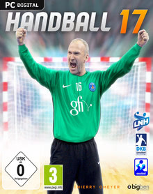 Packaging of Handball 17 [PC]