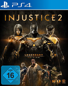Verpackung von Injustice 2 Legendary Edition [PS4]