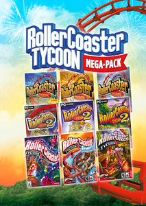 Verpackung von RollerCoaster Tycoon Mega Pack [PC]